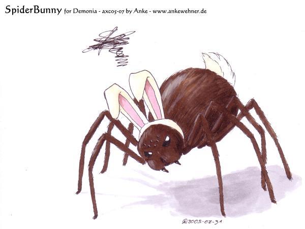 SpiderBunny for Demonia