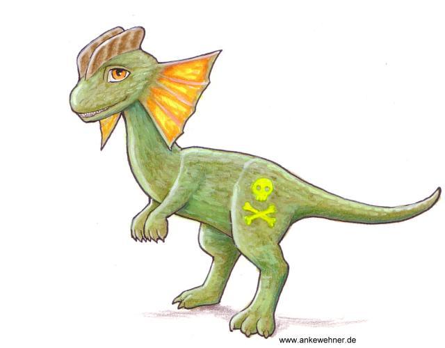 My Little Dilophosaurus