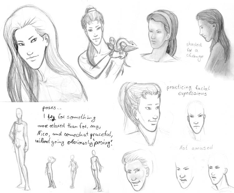 Sylvie - collected sketches