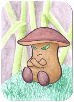 Grumpy Mushroom