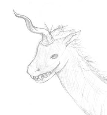 Unicorn Sketch