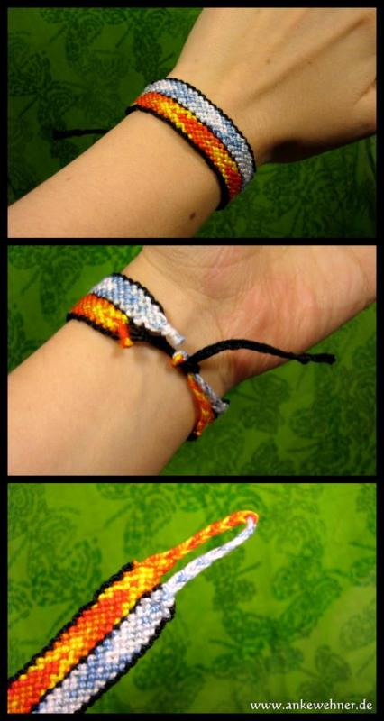 Flame and Icicle Bracelet
