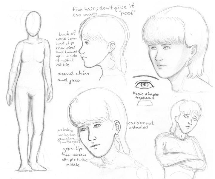Sketches - Jessica