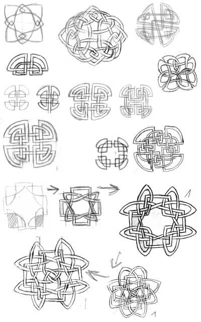 Knotwork - Circles and Squares