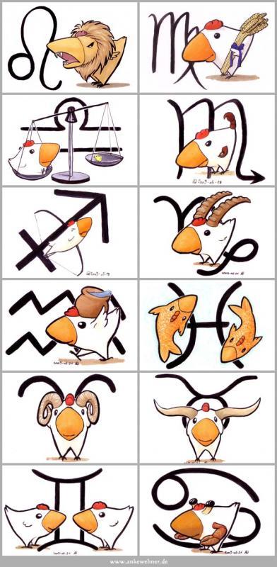 Zodiac Chickens
