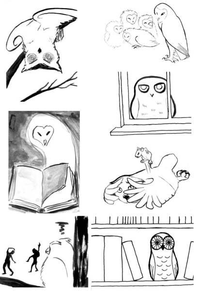 Sketch Fest Owls