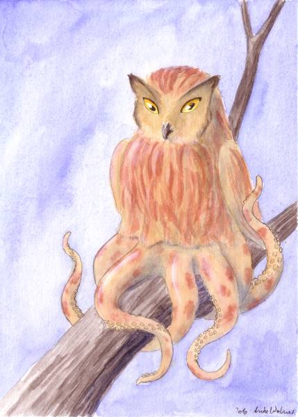 Striped Owltopus