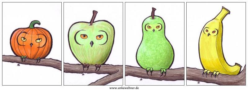 Fruity Owls