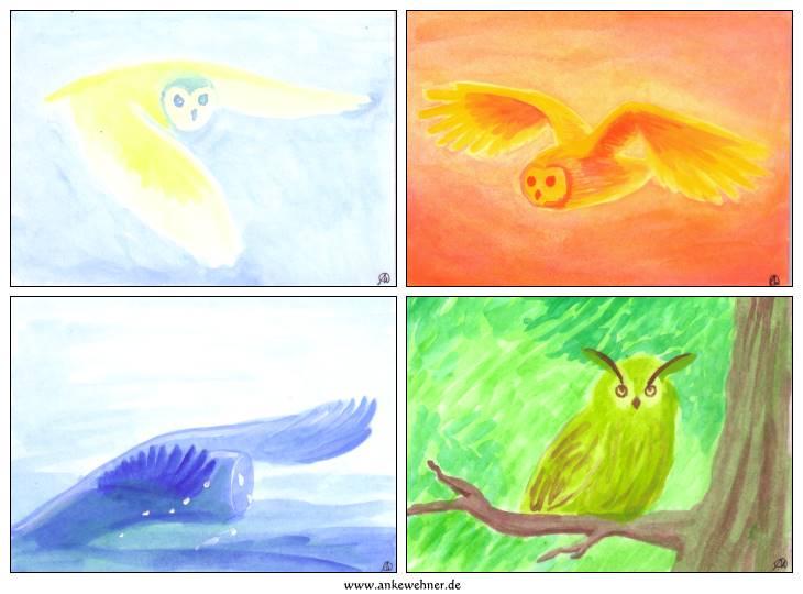 Elemental Owls
