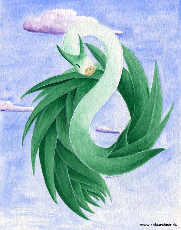 Leek Dragon