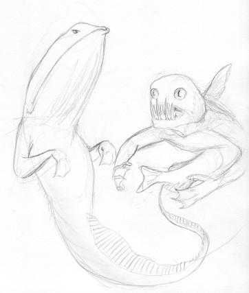 Mermaids of the Deep