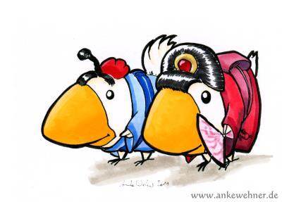 Hinamatsuri Chickens