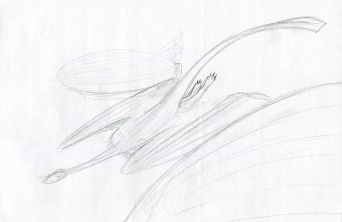 Flying among the Airships