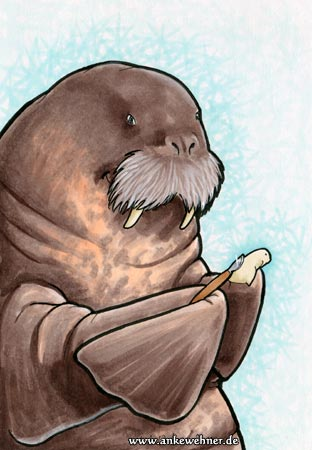 Whittling Walrus
