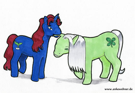 Birthday-Ponies for Nev