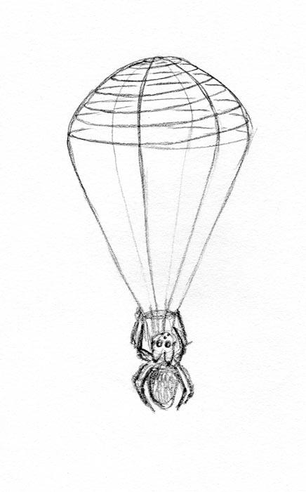 Parachute Spider