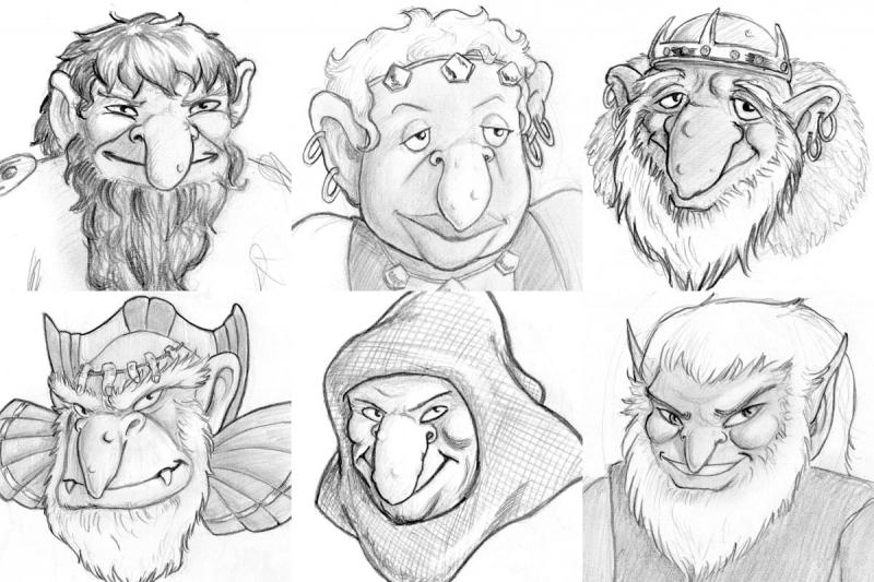 Elfquest - Trolls